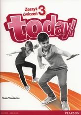 Today 3. Zeszyt ćwiczeń + MP3 CD + minirepetytorium