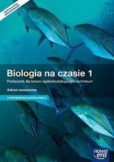 Biologia na czasie. Liceum/technikum, część 1. Podręcznik. Zakres rozszerzony