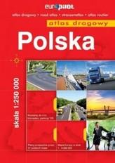 Polska. Atlas drogowy 1:250 000