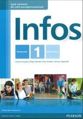 Infos. Szkoły ponadgimnazjalne. Część 1. Język niemiecki. Podręcznik + CD. Poziom A1