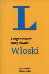 Duży słownik Włoski. Langenscheidt