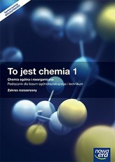 To jest chemia 1. Chemia ogólna i nieorganiczna. Liceum i technikum. Podręcznik. Zakres rozszerzony