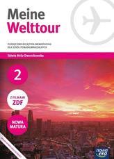 Meine Welttour. Szkoły ponadgimnazjalne. Część 2. Język niemiecki. Podręcznik + CD