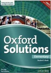 Oxford Solutions Elementary Student's Book (Podręcznik)