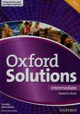 Oxford Solutions Intermediate Student's Book podręcznik
