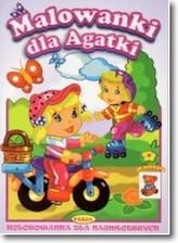 Malowanki dla Agatki