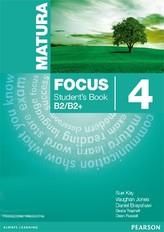 Matura Focus 4. Student`s Book Podręcznik plus Word Store B2/B2+ (2015)