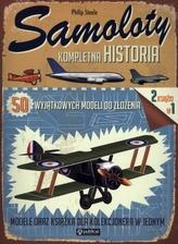 Samoloty. Kompletna historia, 50 modeli do złożenia