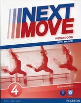 Next Move 4. Gimnazjum. Język angielski. Ćwiczenia+CD