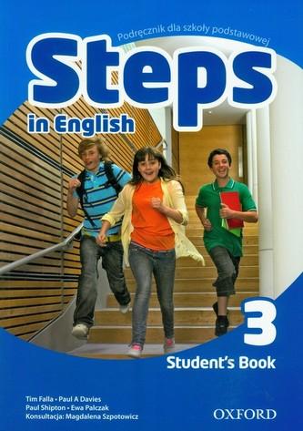 Steps in English 3. Klasa 4-6, szkoła podstawowa. Język angielski. Podręcznik