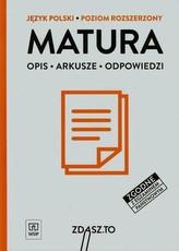 Zdasz to. Język Polski. Arkusze maturalne. Poziom rozszerzony