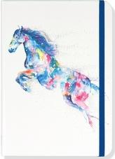 Notatnik mini - koń akwarela