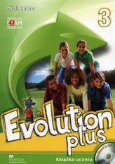 Evolution plus 3. Student's Book (Książka ucznia) + płyta CD