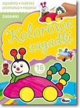 Kolorowe zagadki zabawki