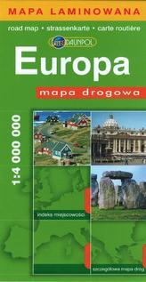 Mapa drogowa - Europa