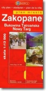 PLAN M.- ZAKOPANE NOWY TARG BUKOWINA TAT