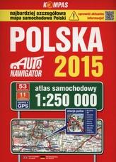 Polska. Atlas samochodowy 1:250 000