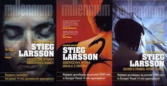 Trylogia Millennium. Pakiet 3 książek