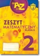 Od A Do Z kl. 2 - zeszyt matematyczny cz.2