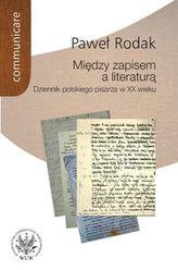Między zapisem a literaturą