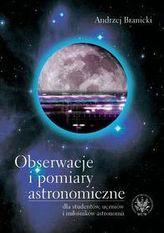 Obserwacje i pomiary astronomiczne