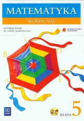 Matematyka wokół nas 5 Podręcznik z płytą CD