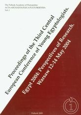 Proceedings of the Third Central European Conference of Young Egyptologists
