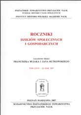 Roczniki Dziejów Społecznych i Gospodarczych