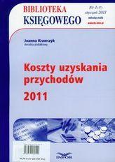 Biblioteka Księgowego 2011/01 Koszty uzyskania przychodów