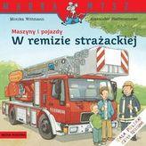 Maszyny i pojazdy W remizie strażackiej