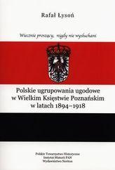 Polskie ugrupowania ugodowe w Wielkim Księstwie poznańskim w latach 1894-1918