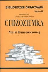 Biblioteczka Opracowań Cudzoziemka Marii Kuncewiczowej