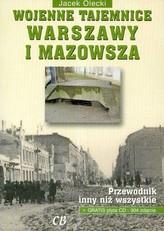 Wojenne tajemnice Warszawy i Mazowsza + CD