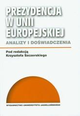 Prezydencja w Unii Europejskiej