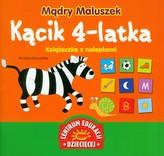 Mądry Maluszek Kącik 4-latka Książeczka z nalepkami