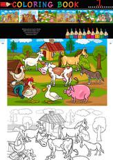 Kolorowanka Farma