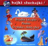 Brzydkie kaczątko Pinokio O rybaku i złotej rybce bajki-słuchajki