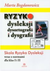 Ryzyko dysleksji dysortografii i dysgrafii
