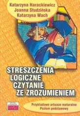 Streszczenia logiczne Czytanie ze zrozumieniem