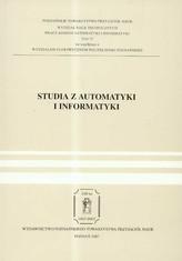 Studia z automatyki i informatyki Tom 32