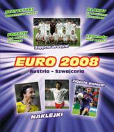 EURO 2008  Naklejanki z plakatem