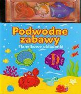 Podwodne zabawy Flanelkowe układanki