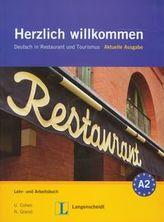 Herzlich willkommen A2 Lehr- und Arbeitsbuch mit 3 CD