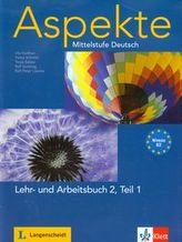 Aspekte 2 Niveau B2 Lehr und Arbeitsbuch + 2CDs