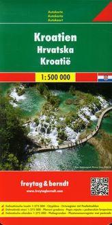 Chorwacja mapa drogowa 1:500 000