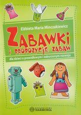 Zabawki i propozycje zabaw