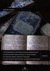 Antroponimia historycznego pogranicza mazowiecko-podlaskiego w XVIII wieku
