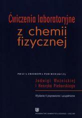 Ćwiczenia laboratoryjne z chemii fizycznej
