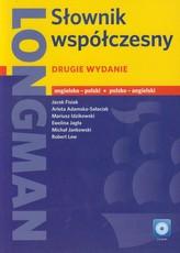Longman Słownik współczesny angielsko polski polsko angielski + CD