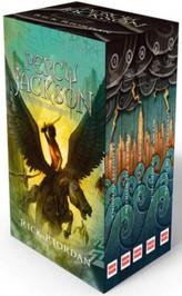 Pakiet Percy Jackson i bogowie olimpijscy. Tomy 1-5